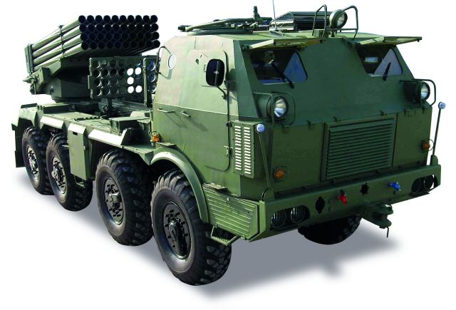 RM-70 M1 MLRS IDET 2015 International Exhibition Defence Security Technologies 001