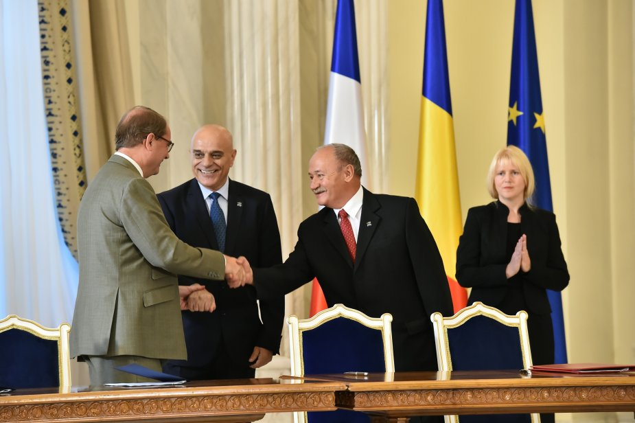MBDA signed a MoU with Romanian companies Romarm and Electromecanica Ploiesti 925 001