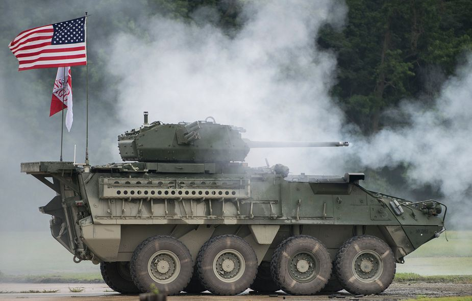 "U.S. Soldiers from the 2nd Cavalry Regiment recently traveled from Germany to Aberdeen Proving Ground as part of a six-week test and training event on the new Stryker Infantry Carrier Vehicle, which is nicknamed ""Dragoon"" after the unit."