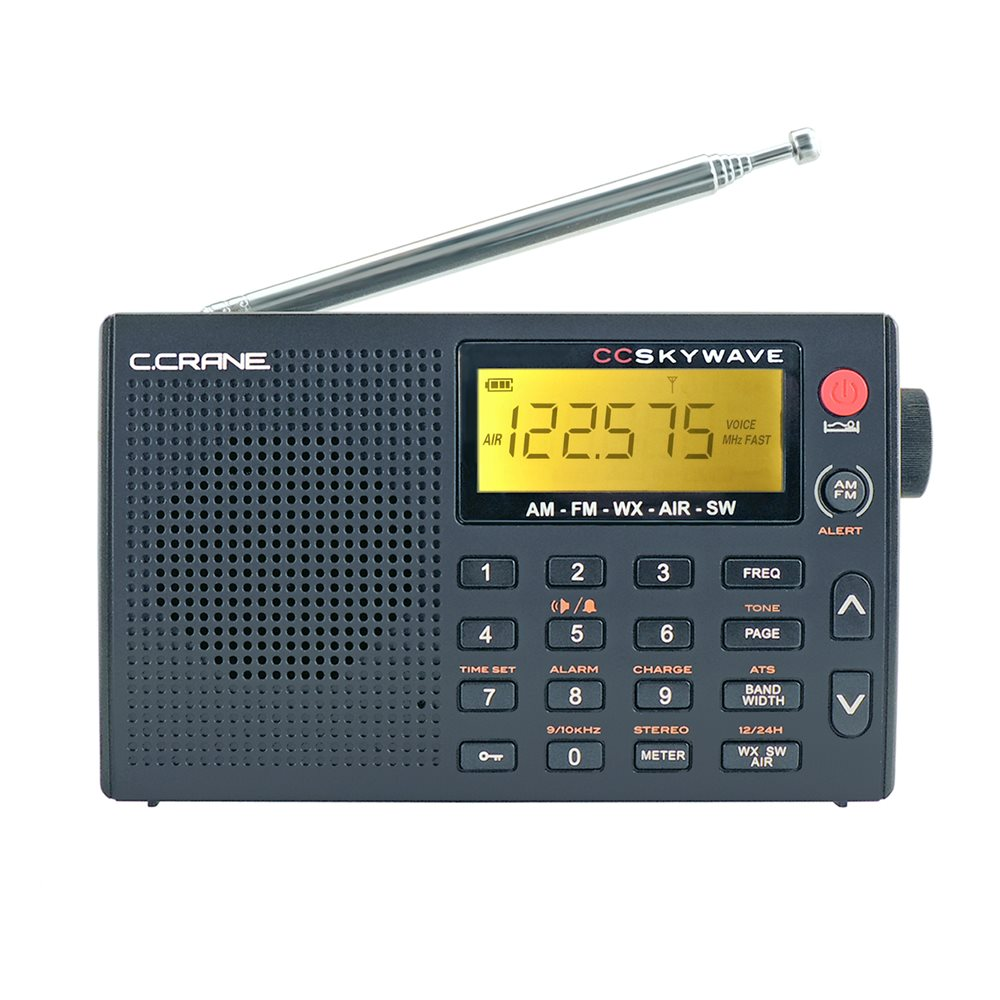 C crane weather alert radio