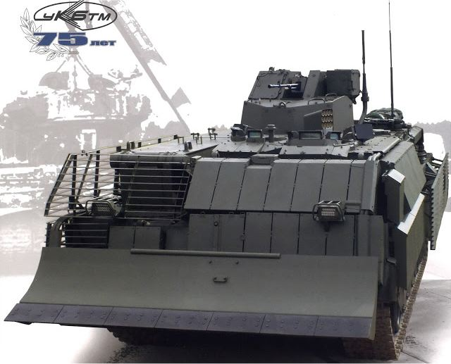 T-16 BREM tracked armoured recovery vehicle Russia Russian army defense industry 640 001