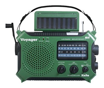 Kaito emergency weather alert radio