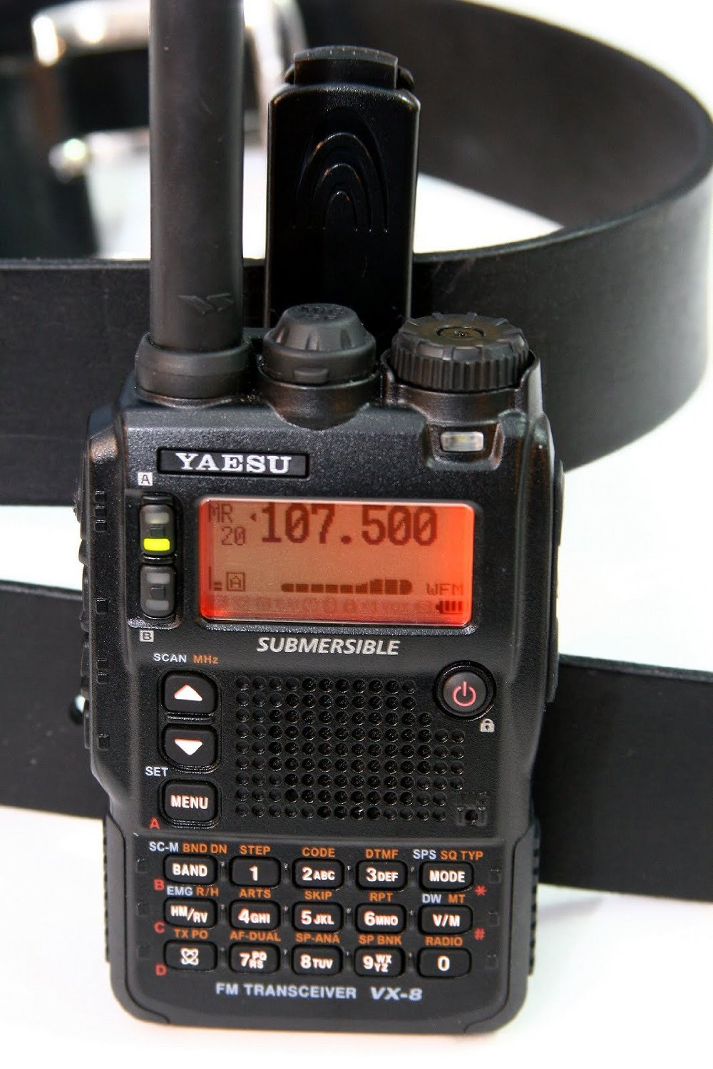 Yaesu VX8DR Quad-Band Ham Radio Transceiver Unit