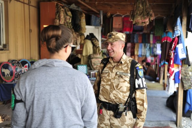 Romanian Military Police Detachment Provides Bagram Airfield Security 640 001