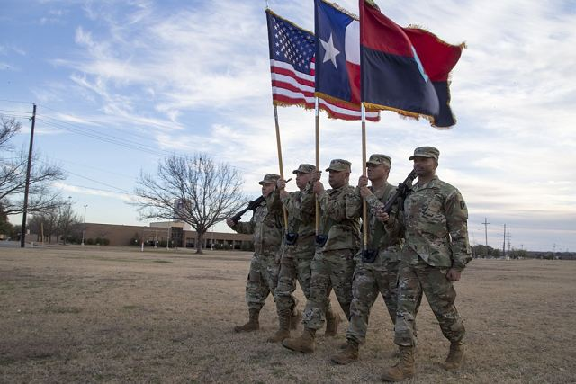 US soldiers from the 36th Infantry Division will be deployed to Afghanistan 640 001