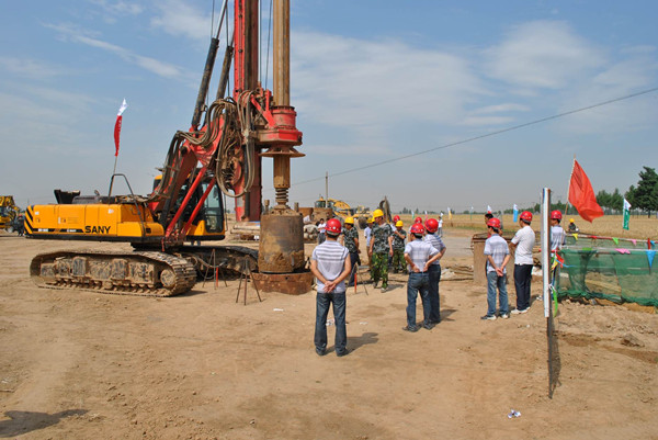 旋挖桩施工工程