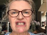 The fashion guru Susannah Constantine, above, explained how her teeth were permanently discoloured by antibiotics her mother took in pregnancy. She made the comments in a video called 'Teeth! Oh what to do?', which has been viewed almost 4,000 times