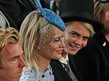 Kate Moss and Nikolai Von Bismarck: Kate Moss calls Fergie 'The Duch'. The pair got to know each other on the St Moritz ski scene. Eugenie knows Kate's boyfriend Nikolai, too. She and Beatrice were seen at parties with him before his romance with Kate began in 2015