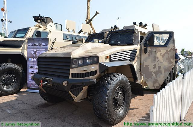 LM13 LMT multi-purpose combat vehicle AAD 2016 defense exhibition South Africa 001