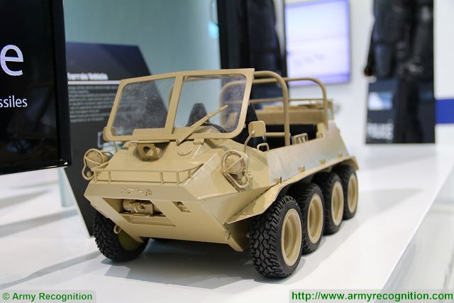 Lynx NORINCO 8x8 all-terrain vehicle China Defense industry AAD 2016 South Africa 001