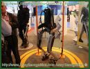 At MILIPOL 2011 a French Defence Company has developed in collaboration with the DGA (French General Directorate for Armament) a collaborative exoskeleton robot (HERCULE), designed to assist a human for carrying and handling heavy loads.