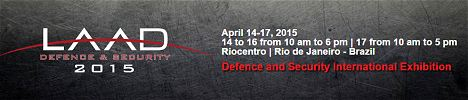 LAAD 2015 Defence and Security International Exhibition  Brazil