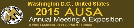 AUSA 2015 annual Meeting and Exposition of United States Army Association Washington DC United States