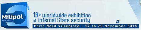 Milipol 2015 worldwide xhibition of internal state security Paris France