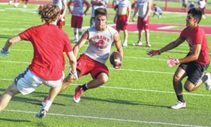 Durant splits in 7-on-7 summer gridiron finale