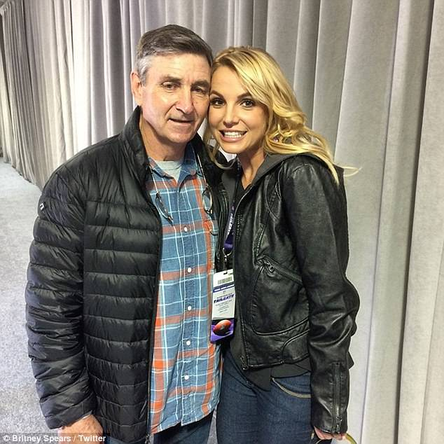 Ready to take control: Britney Spears' father is reportedly seeking to ending her conservatorship