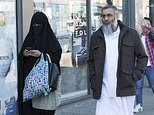 Anjem Choudary was pictured enjoying his freedom as he went out shopping with a woman, believed to be his wife,Rubana Akhtar