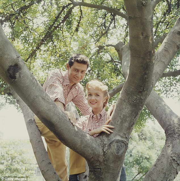 Fisher and Reynolds were the America's Sweethearts of the era after their marriage in 1955, with their son Todd writing in his new book: 'They seemed almost too good to be true. Which, of course, they were'