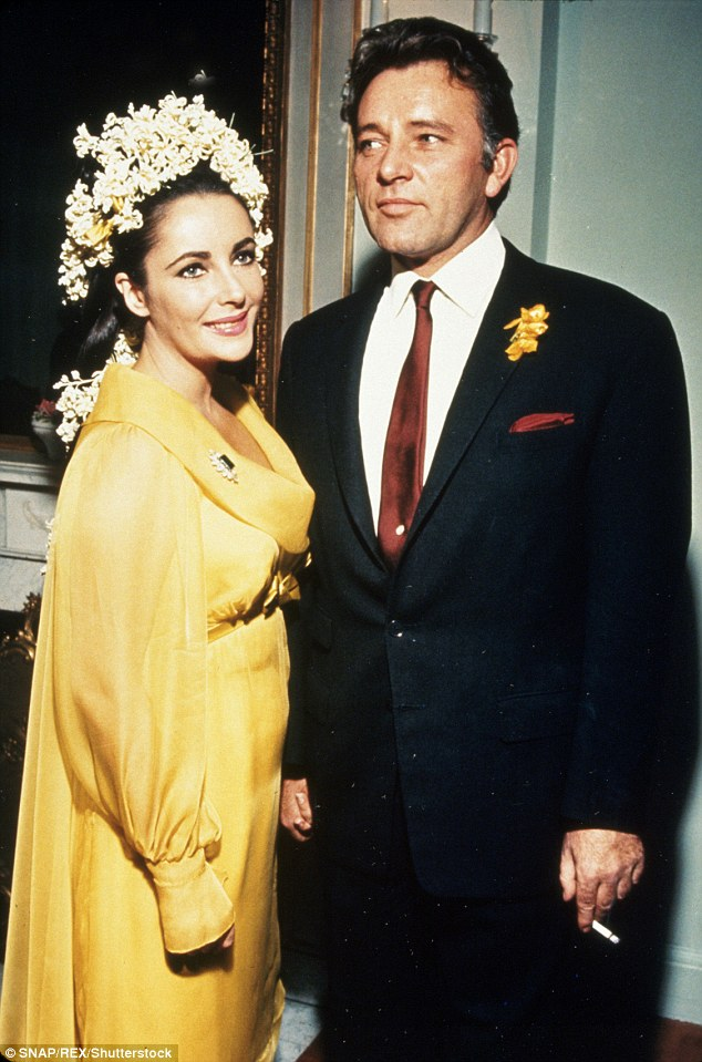 Reynolds, after remarrying herself, reconciled with Taylor after the pair found themselves booked on the same cruise ship; Reynolds and her husband even shared dinner with Taylor and Burton, pictured
