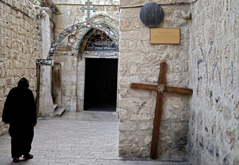 """بيان من مصر بشأن رهبان كنيسة دير السلطان بالقدس: """"الاعتداء الإسرائيلي"""" مرفوض"""