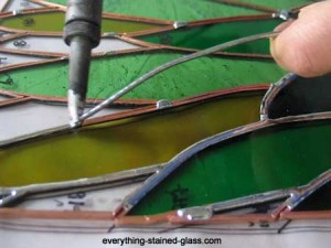 Stained Glass Soldering