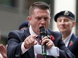 Tommy Robinson could make more than £1million if he is allowed to travel to the US for a trip next month