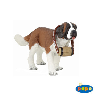St. Bernard Dog Vinyl Figure