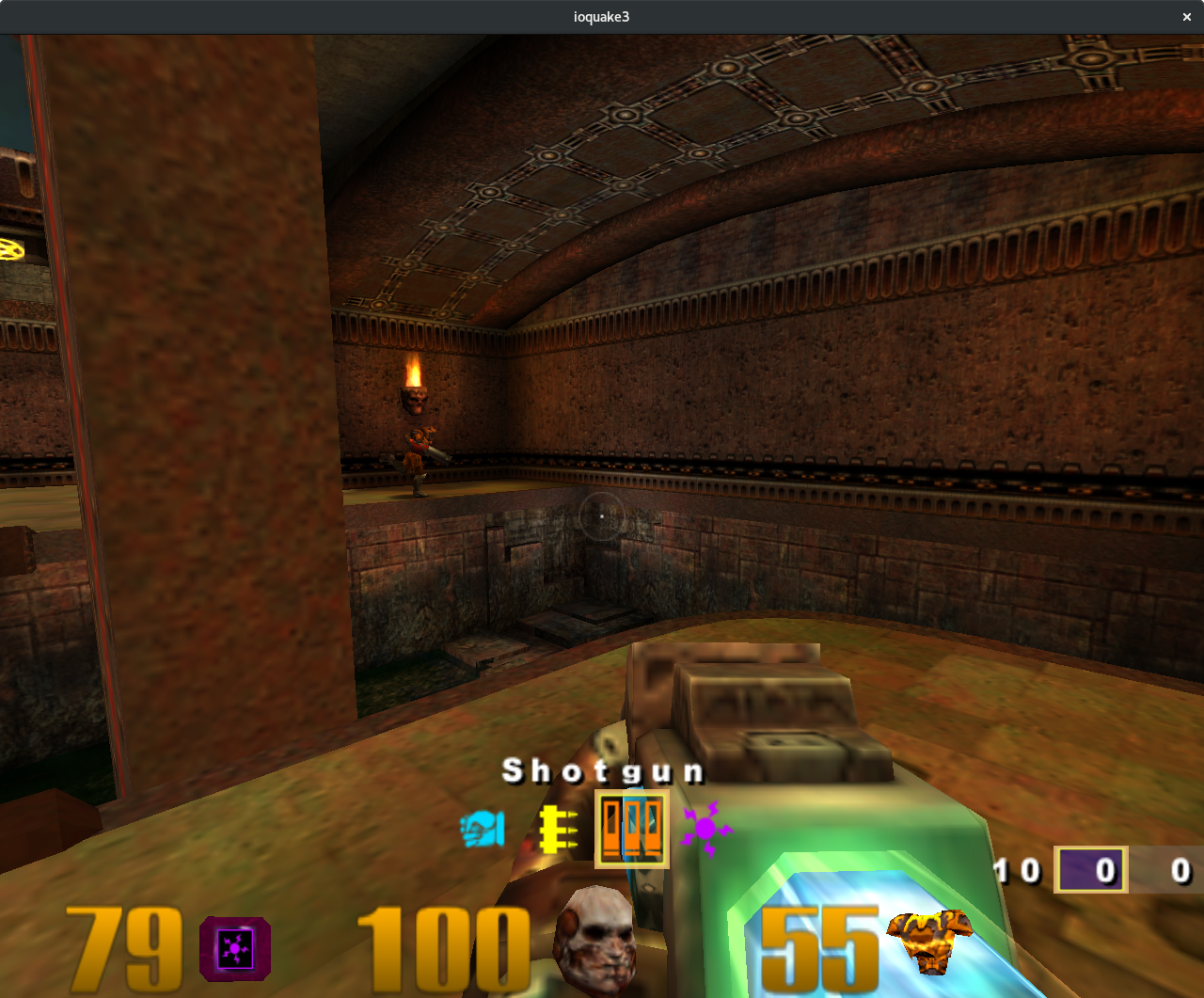 Quake 3 on Zink
