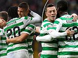 Odsonne Edouard netted a brace as Celtic smashed five goals past leaders Hearts