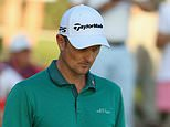 Justin Rose's hopes of retaining his title were hit by a series of uncharacteristic errors