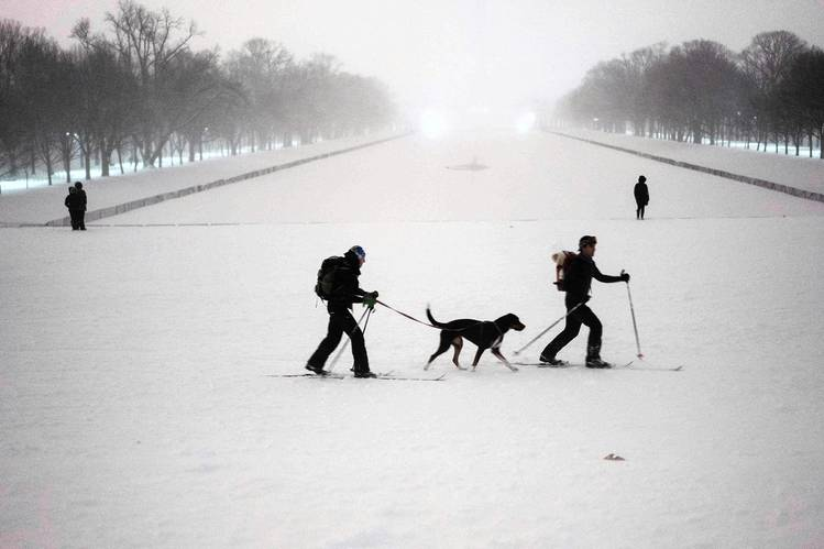 On the National Mall in Washington, D.C., Jan. 23.