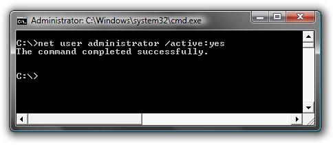 Command windows