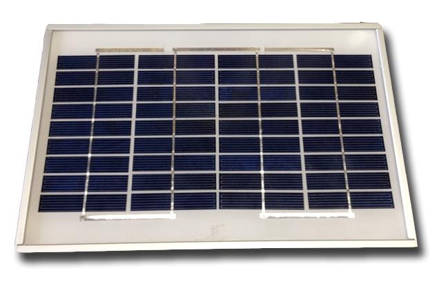 UL-SOLAR 5 WATT 12 VOLT DC POLYCRYSTALLINE SOLAR PANEL