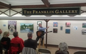 Storytelling at Riverstones Custom Framing & the Franklin Gallery in Rochester, NH