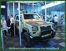 The South African Company SVI presents the latest version of its light APC Armoured Personnel Carrier, the FOX at AAD 2012, Africa Aerospace and Defence Exhibition. SVI offers a new design philosophy of armoured for light combat vehicle (LCV) based to its extensive experience in the design and qualification of landmine and blast protected vehicles