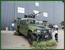 The China North Industries Corporation (NORINCO) exhibits for the the first time in Africa the CS/VA1 Light Strike Vehicle with CS/LM5 rotary machine gun during the AAD 2012, Africa Aerospace and Defence Exhibition in Pretoria, South Africa. The Chine CS/VA1 is a 4x4 light tactical vehicle which can be used as multi-role platform and for a wide range of missions.