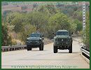 During AAD 2012, the South African Company Paramount Group has invited the international press to the Gerotek test facilities from the Didata Campus to experience a test drive with the Marauder and Matador armoured vehicles personnel carrier. The team of Army Recognition had the opportunity to test the vehicles in all-terrain conditions of South Africa and climbing slopes greater than 60%.