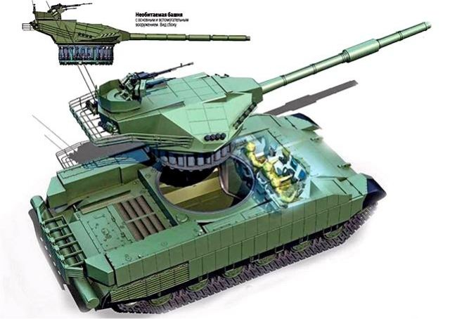 Ukraine to develop the T-Rex a new main battle tank to compete the Russian T-14 Armata MBT 640 001