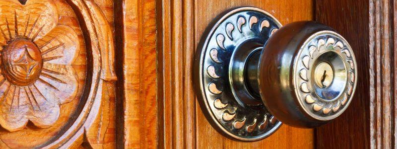 how to open a locked door cover main