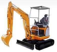 360°履带式微型挖掘机