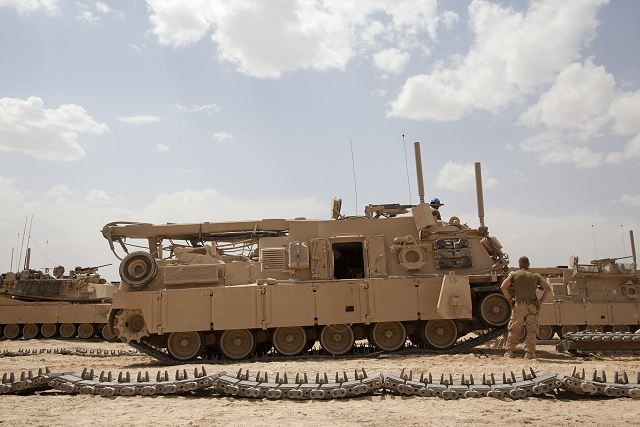 BAE Systems will convert 36 M88A1 recovery vehicles of US army to M88A2 standard 640 001