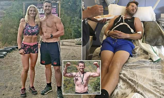 PT, 39, forgot this entire family after a cardiac arrest from overtraining stopped his