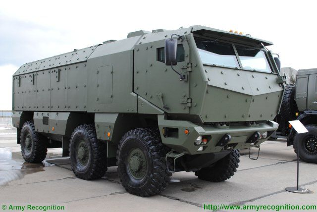 Kamaz-63968 typhoon multi-purpose 6x6 armoured truck Russia Russian defence industry military technology 009