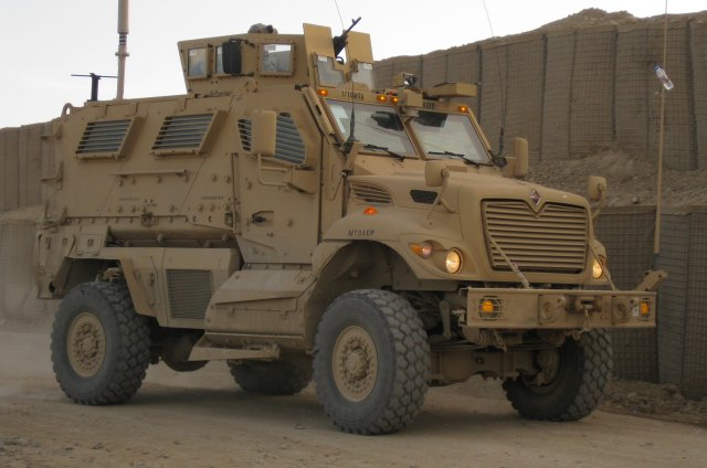 Navistar Defense receives MRAP vehicles upgrade contract from the US Army 640 001