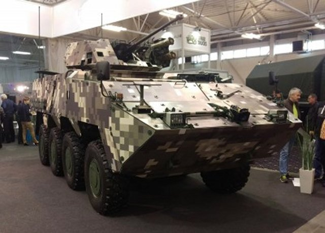 New Slovak Corsac 8x8 Infantry Fighting Vehicle gets Russian armament suite 640 001