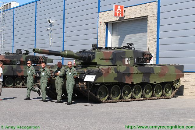 Poland will start the modernization of its Leopard 2A4 main battle tanks in 2018 640 001