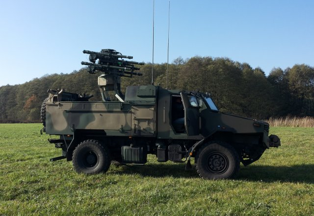 Poland signed a 273 million order for the Proprad short range air defence systems 640 001
