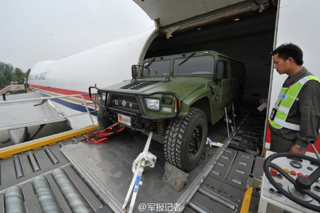 China Delivers 20 MengShi 4x4 army light utility vehicle to Trinidad and Tobago 640 001