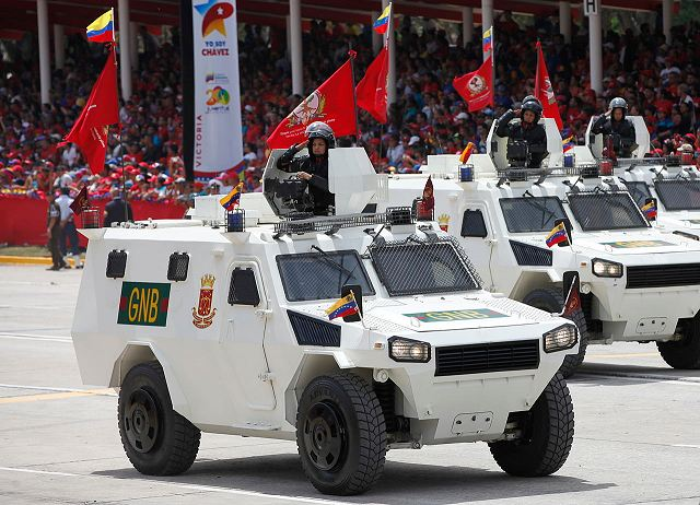 China has delivered 557 armoured and security vehicles to Venezuela 640 001