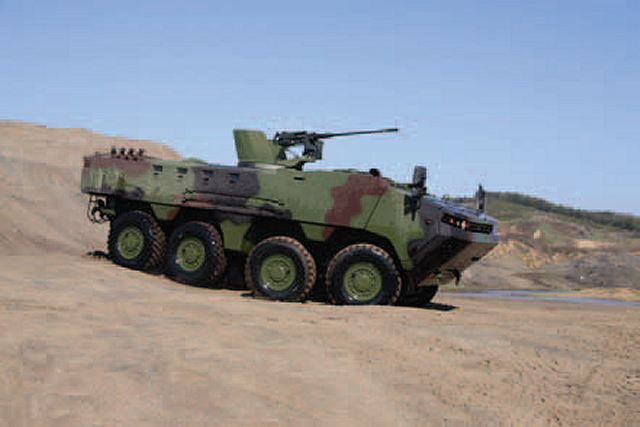 Arma 8x8 wheeled armoured vehicle personnel carrier Otokar Turkey Turkish Defence Industry Military Technology 006